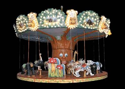 Jungle carousel