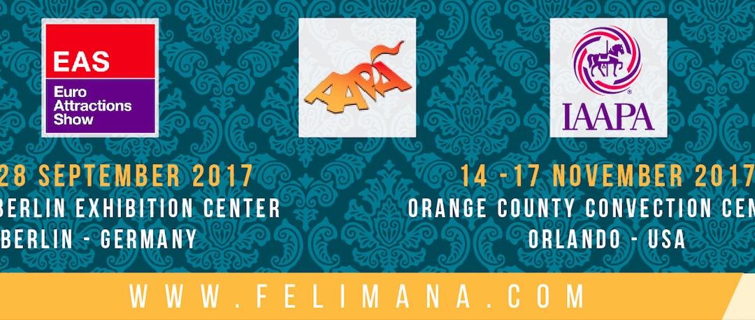 Felimana Luna Park expone en EAS Berlín y IAAPA Orlando