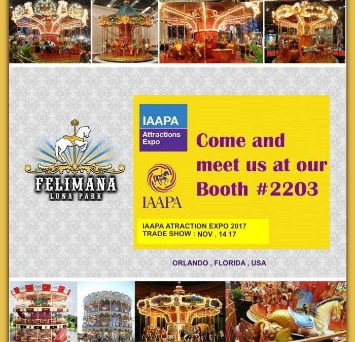 Felimana Luna Park en Exposición de Atracciones IAAPA 2017